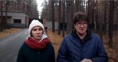 Депутат Елена Вахтина и общественник Андрей Костенко