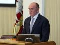 Губернатор на первом заседании Законодательного собрания Челябинской области